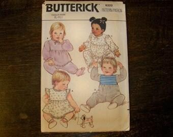 Butterick Infants Jumpsuit Pattern - 6322 - Size (L- XL)