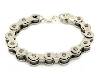 Bike Chain Bracelet, bicycle chain bracelet