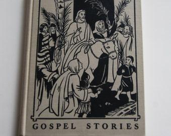 Vintage Children's Book, Gospel Stories