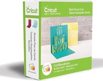 Simple Pop-up Cards, New Cricut Cartridge