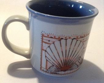 Vintage Otagiri Seashell Mug