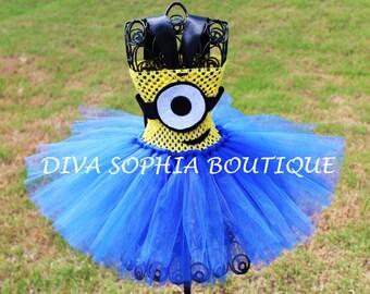 Minion Tutu Dress/ Minion Costume