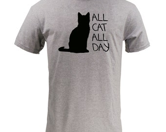 All Cat All Day - Sport Grey