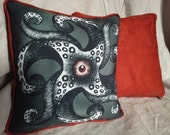 Tentacular Throw Pillow