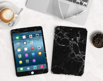 Black Marble Vinyl Skin for the iPad Air 2, iPad mini , Kindle All Models , Surface Pro and RT , iPad Pro