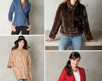 Simplicity 2150, Misses Jackets Sewing Pattern, New Uncut Pattern size 6-8-10-12-14