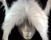 Multi Color Short Wolf Rave Hat