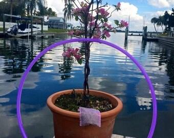 "UV Reactive Violet Colored 3/4"" Polypro Hoop"