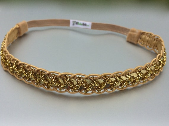 Gold Headbands, Sequin Headband, Baby Headband, Gold Headband, Baby Girl Headband, Newborn Headband, Girls Headbands