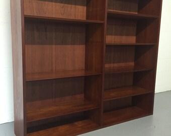Danish Teak Bookcase / Cabinet by Poul Hundevad Mid Century