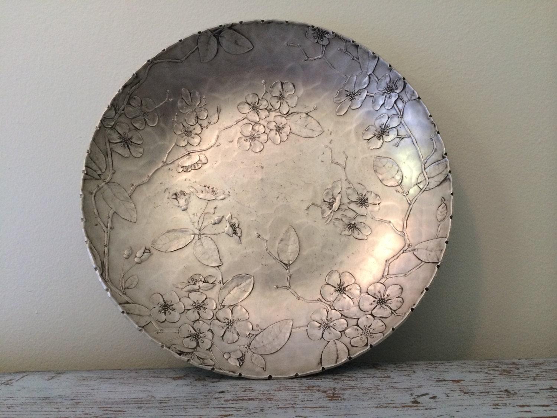 Vintage Wendell August Forge Hand Hammered Aluminum Decorative