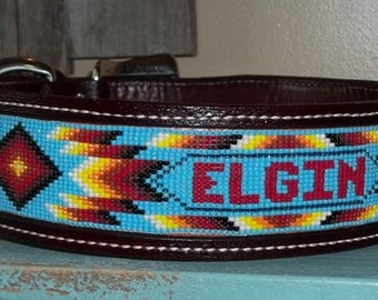 "2"" Leather Dog Collar"