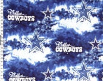 Dallas Texas Cowboys Fleece Tie Blanket