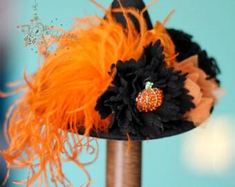 Witch hat, felt hat, Costume hat, hat, Halloween accessories, acessories