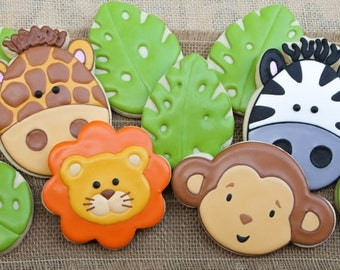 Safari Jungle Cookies