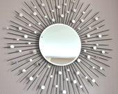 "26"" Sunburst mirror"