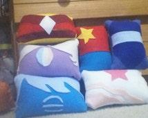 Steven Universe inspired pillows