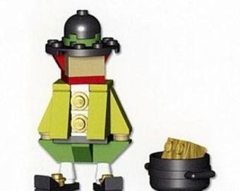 Lego Leprechaun Mini Build Parts & Instructions Kit
