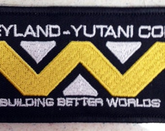 Weyland-Yutani Corp patch Alien movie sci-fi