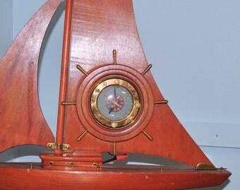Vintage Sessions Sailboat Clock
