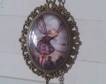 fairy becklace picture pendant necklace