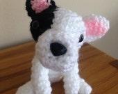 Miniature Crochet French Bulldog