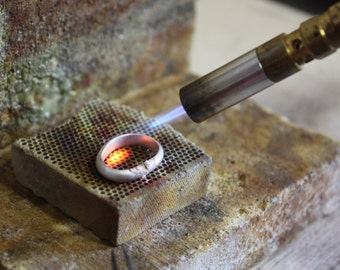 WORKSHOP: Satuday 15th October, Making Silver Rings