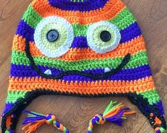 Monster Crochet Hat Pattern