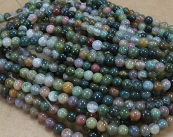 Fancy Jasper Bead Strand, Multi-Colored Jasper Strand, Natural 4mm beads, 16 inch Strand, Beading Supplies, Item 628pm