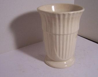 Vintage Off-White or Cream Vase