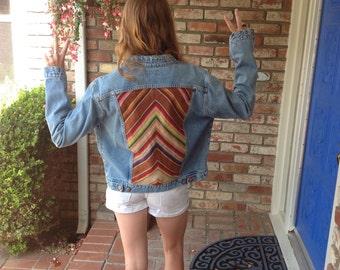 Recycled Custom Jean Jacket
