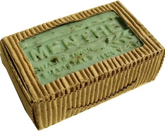 Mint  Soap Triple Milled made with Olive Oil