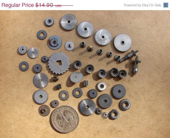 Steampunk Clocks For Sale on Sale Vintage Metal Clock