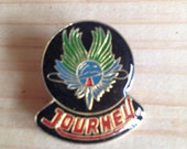 Journey band pin 1980's new old stock