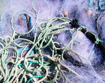 Fine art print photography : Purple fishing nets, France photography, nautical photography, Mediterranean decor, wall art, wall decor.