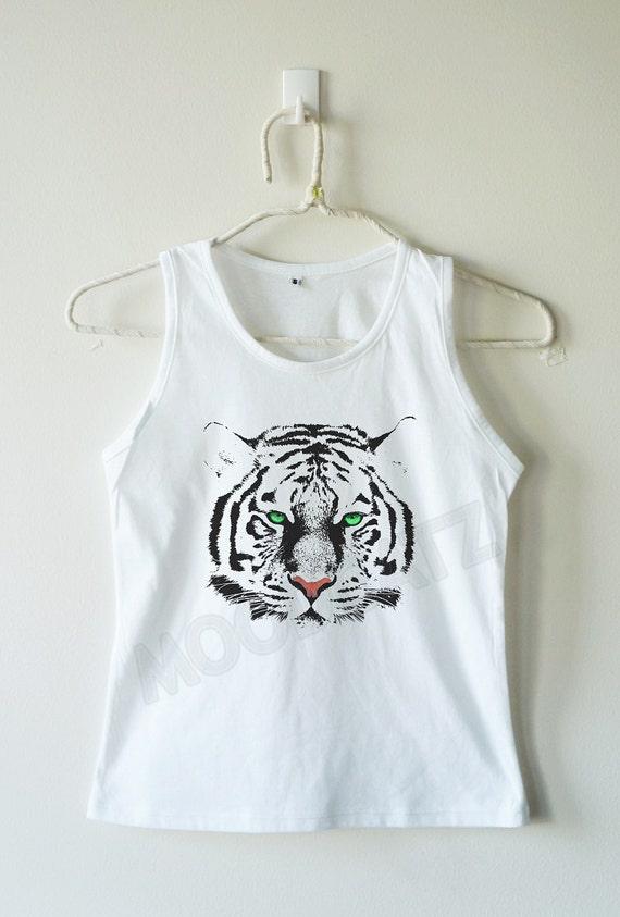 Items similar to Cute Tiger shirt eyes tiger top cool ... Cute Siberian Tiger Shirt