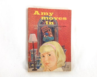 "Vintage Paperback ""Amy Moves In"" by Marilyn Sachs"