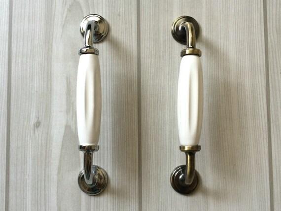 5 witte keuken lade pull grepen kastdeur greep trekt