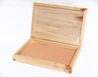 Felt Lined Maple Box