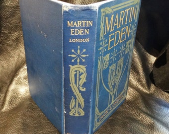 Antique Jack London Martin Eden Book First Edition 2nd printing 1909