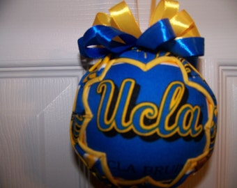 UCLA/ Brunis Quilted Ornament