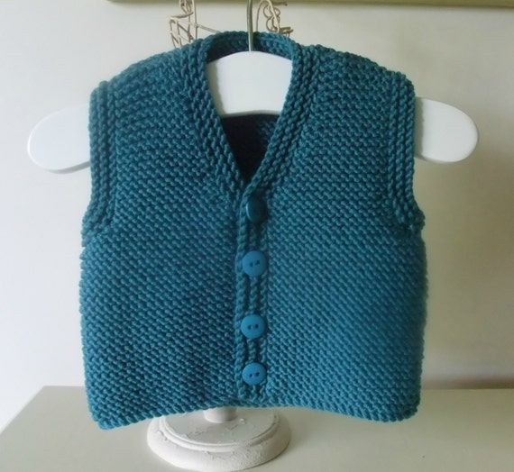Knitting Pattern Waistcoat : Knitting Pattern for Oscar Waistcoat