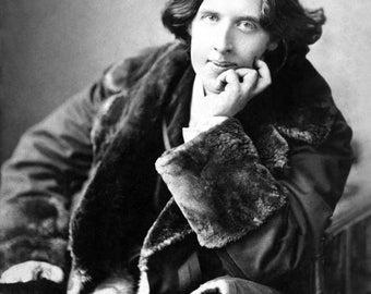 Oscar Wilde Photo Print