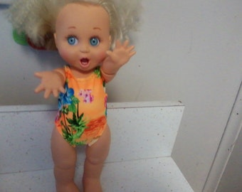 Galoob Baby Face Doll Bathing Suit