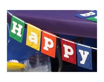 Lego Themed Banner