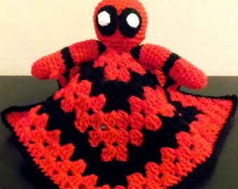 Deadpool Snuggle Buddy Baby Security Blanket
