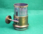 Vintage Magic Lantern Lens / Focusing Tube