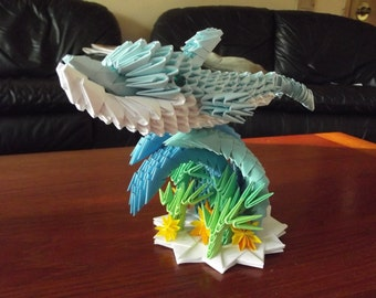 3D Origami Dolphin