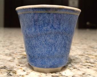 Blue Seafoam Shot Cup