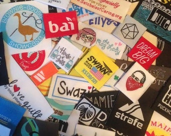 500 Custom Woven Labels USA